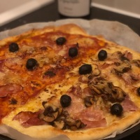 La pâte à pizza