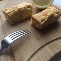Cake léger citron amande (sans beurre)